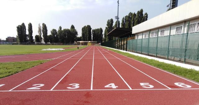 Apertura NUOVA pista di atletica da Lunedì 14 Settembre