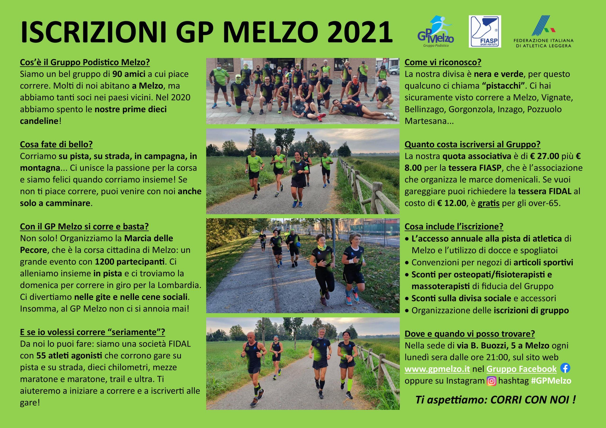Iscrizioni GP Melzo 2021